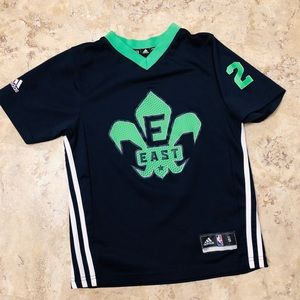 wholesale dealer f25fc 4ad47 Adidas 2014 Nola NBA All Star Kyrie Irving Jersey